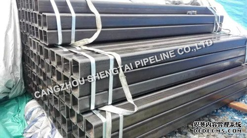 china EN10210 square steel pipe manufacturing/supplier