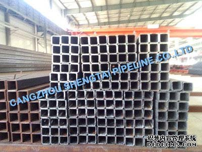 china ASTM A500 square steel pipe manufacturing/supplier