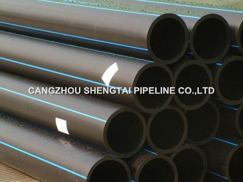 china PE100 HDPE pipe for water supply manufacturing/supplier