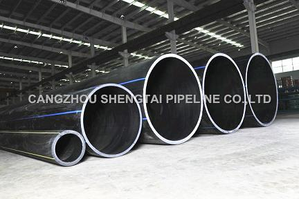 china discount big diameter HDPE pipe products manufacturing/supplier