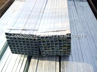 china best galvanized square steel pipe manufacturing/supplier
