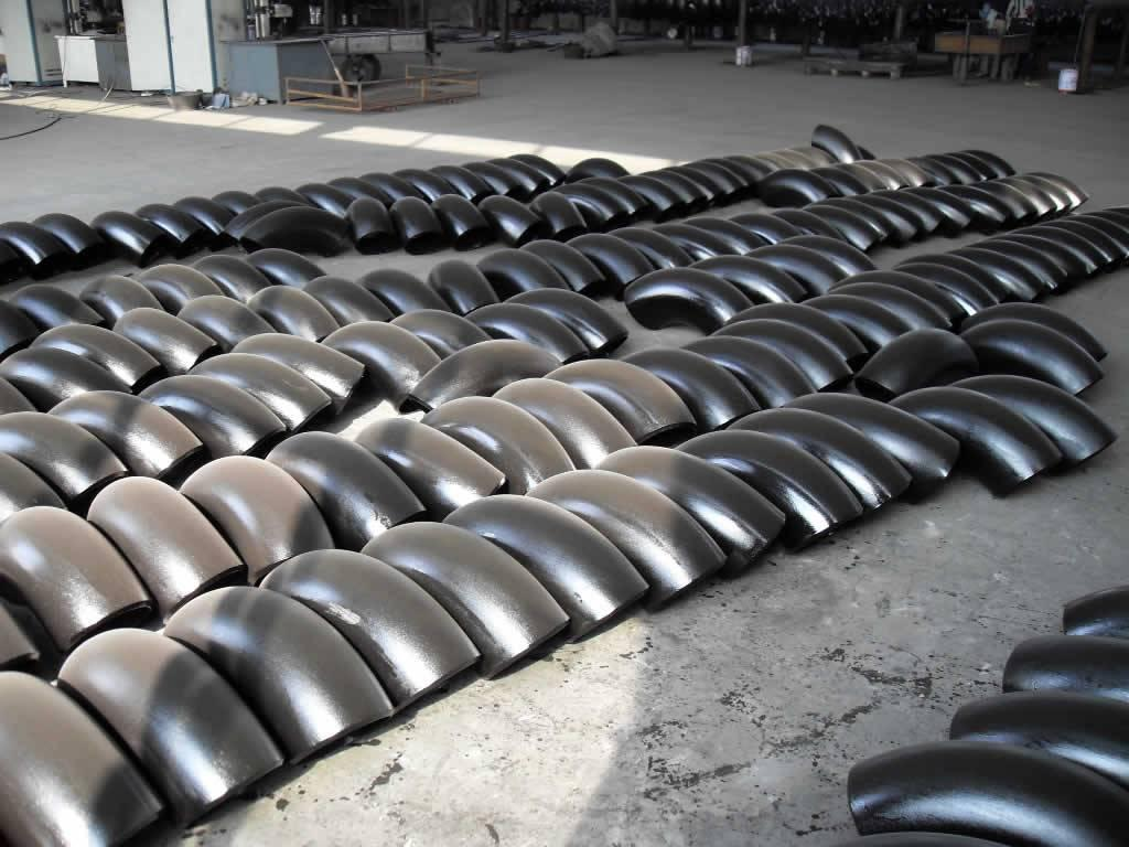 china Carbon steel seamless elbow for expor manufacturing/supplier