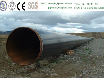 china thick-walled large diameter LSAW Steel Pipe manufacturing/supplier